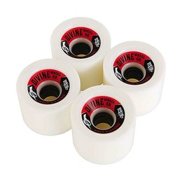 Divine Urethane Co Road Rippers 75mm 78a White