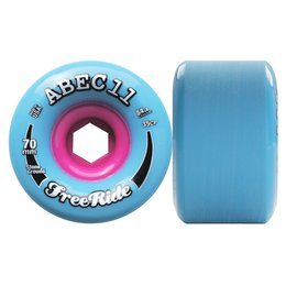 Abec11 StoneGround FreeRide Wheels 84a Blue