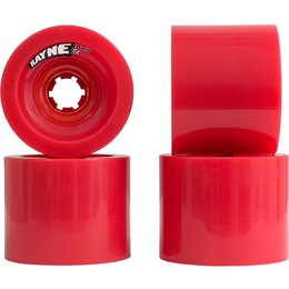 Rayne Lust Wheels 70mm 80a Red