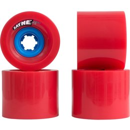 Rayne Lust Wheels 75mm 77a Red