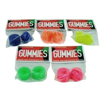Sunrise Gummies Bushings Barrel Cone 75a Blue