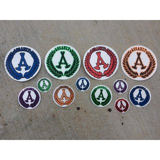 Assault Skateboards Sticker Pack