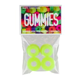 Sunrise Gummies Street Bushings Pack 85a Yellow