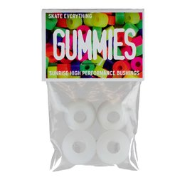 Sunrise Gummies Street Bushings Pack 93a ClearWhite