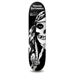 Freedom Skateboards Crimson Hippie Pro Deck