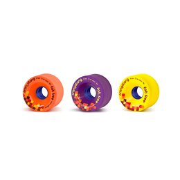 Orangatang Fat Free Wheels 65mm 80a Orange