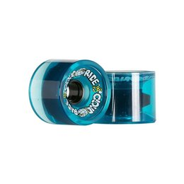 Cloud Ride Cruisers Clear Blue Wheels 69mm 78a