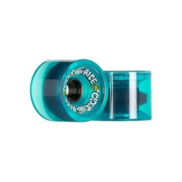 Cloud Ride Cruisers Clear Turquoise Wheels 69mm 78a