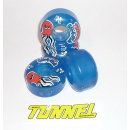 Tunnel Gel E Fish wheels 57mm 78a Blue