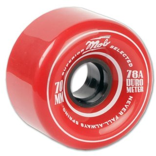 Mob Super Wheels 70mm 78a red